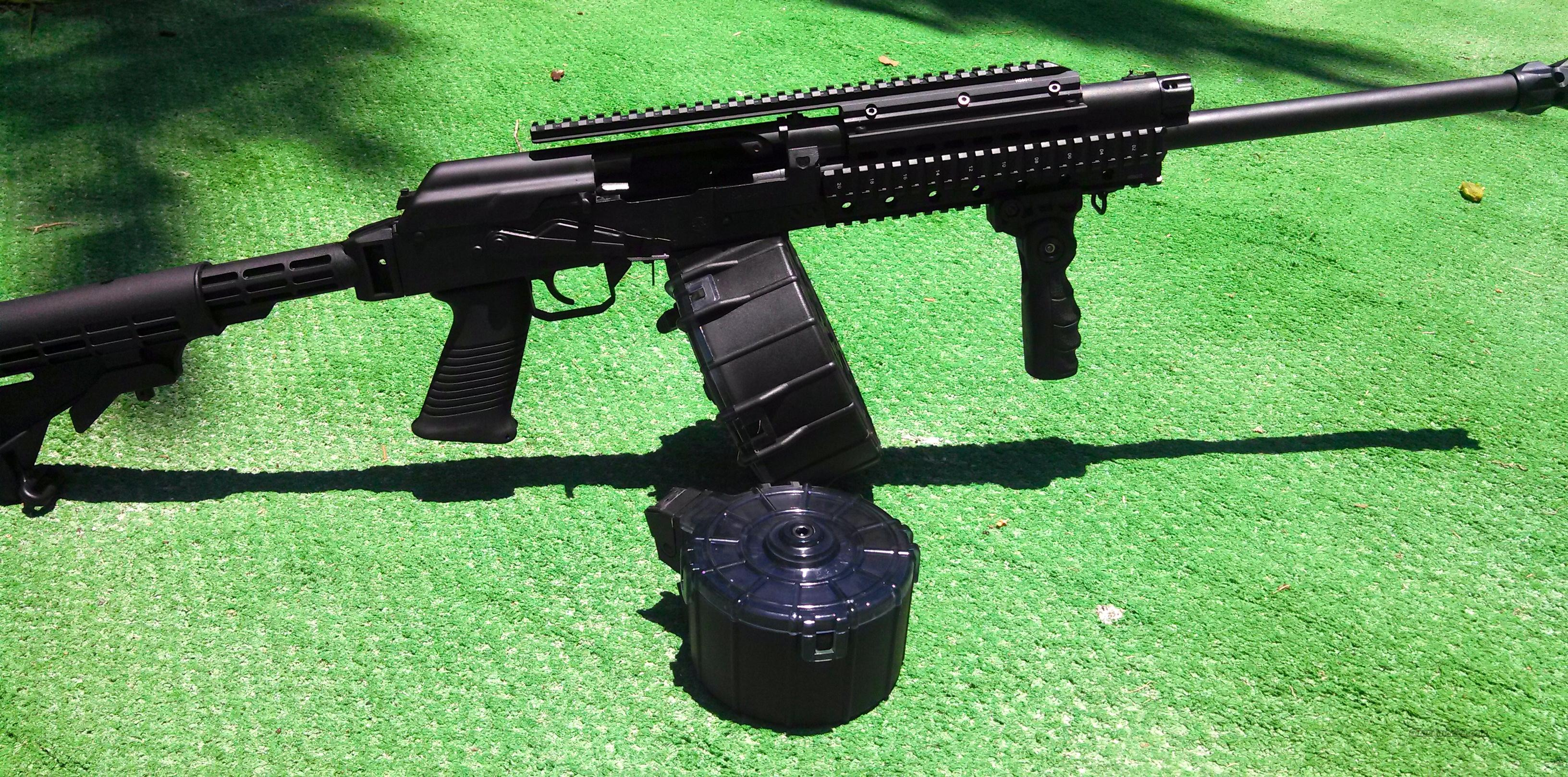 Saiga 12 Presidential Edition Fully Converted Shoots Low Brass ON SALE  Guns > Shotguns > Saiga Shotguns > Shotguns