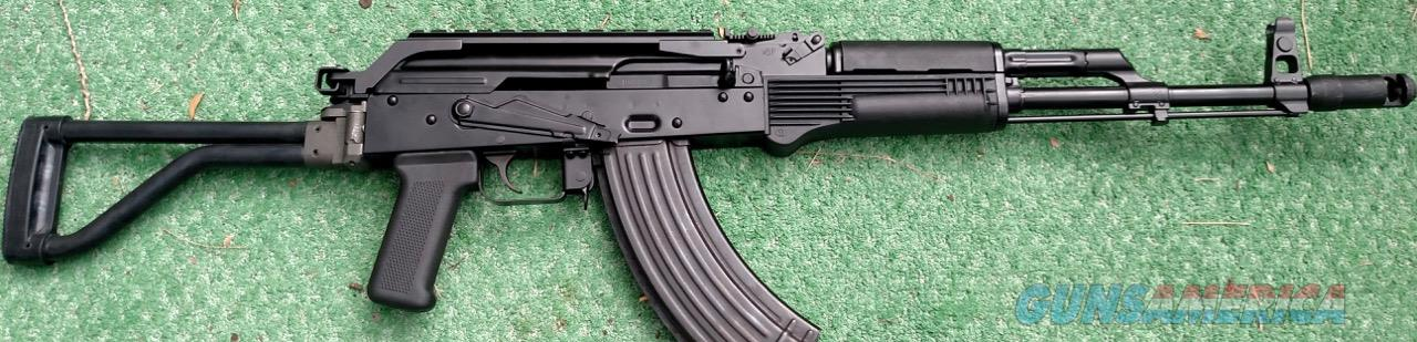 Polish AKM Beryl Archer Rail  (AK47) Made From Factory New Forged Parts Kit Beryl Archer Side Folding Stock Polish Cold Hammer Forged Chrome Lined Barrel Cerakote Finish  Guns > Rifles > AK-47 Rifles (and copies) > Full Stock