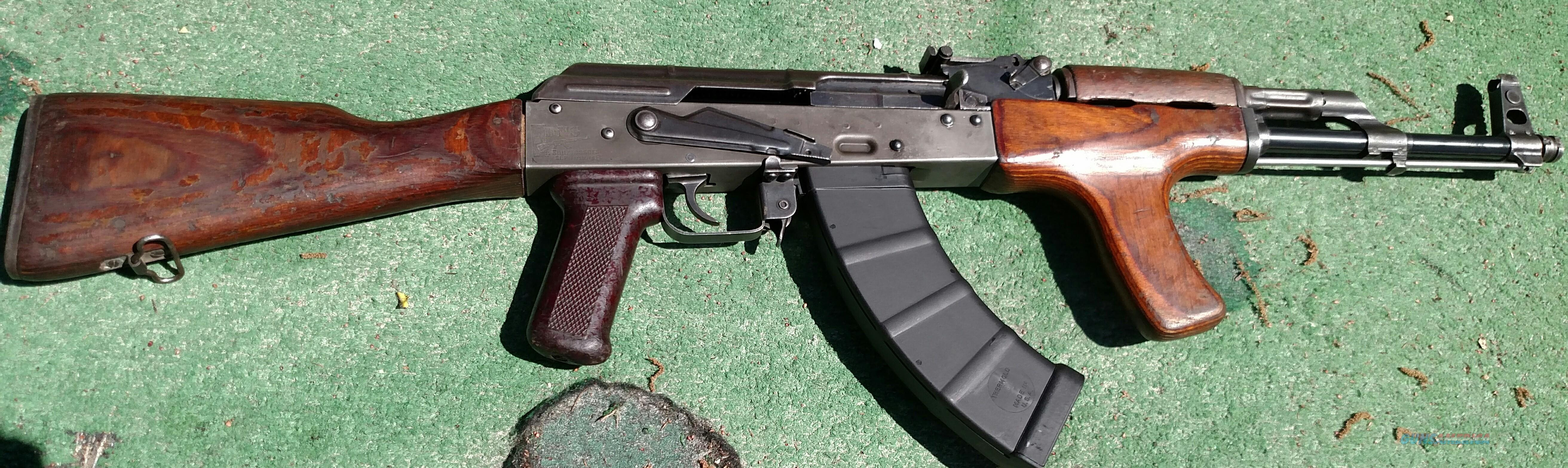On Sale AK47 Rifle Battlefield Pick-Up Romanian VPG Pistol Mitraliera model 1963 Matching Numbers Trench Art  Guns > Rifles > AK-47 Rifles (and copies) > Full Stock