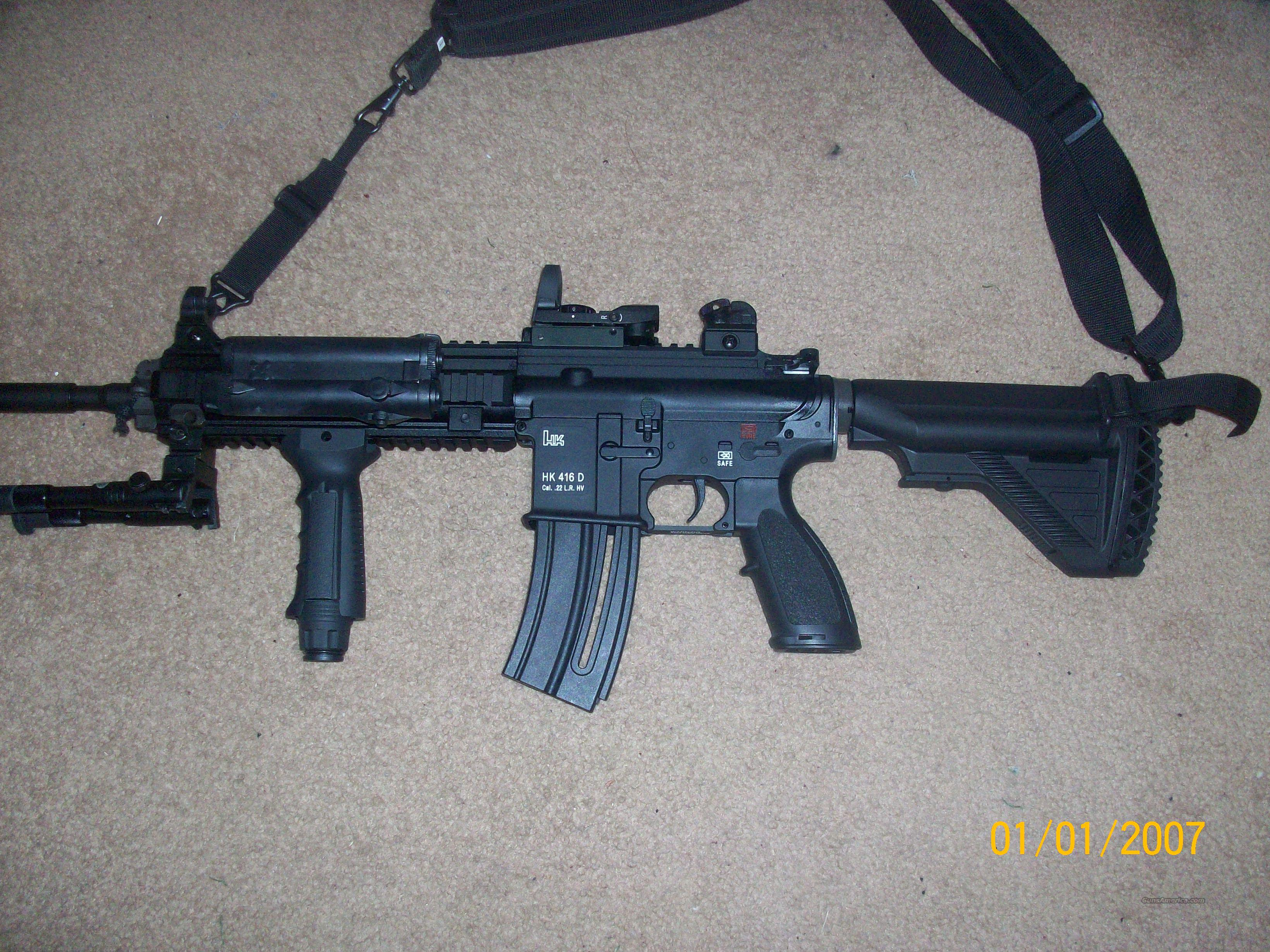 Umarex H&K416 .22LR With EXTRAS!  Guns > Rifles > Walther Rifles