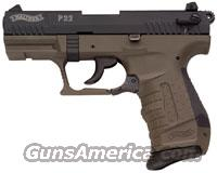 """Walther P22 (Green) 3.4"""" barrel  Guns > Pistols > Walther Pistols > Post WWII > P22"""