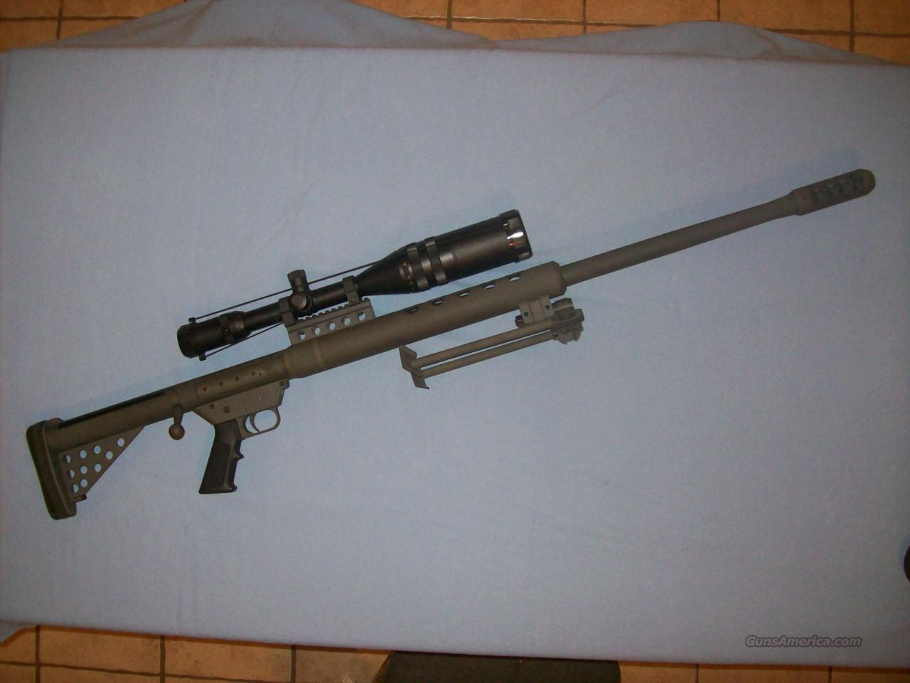 SERBU 50 Cal. Single Shot  Guns > Rifles > Big .50 Caliber Rifles