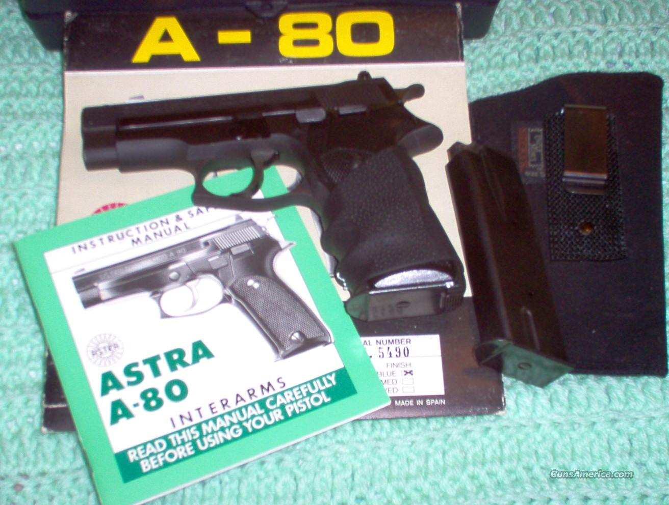 Astra A-80 .45 ACP with Accessories  Guns > Pistols > Astra Pistols