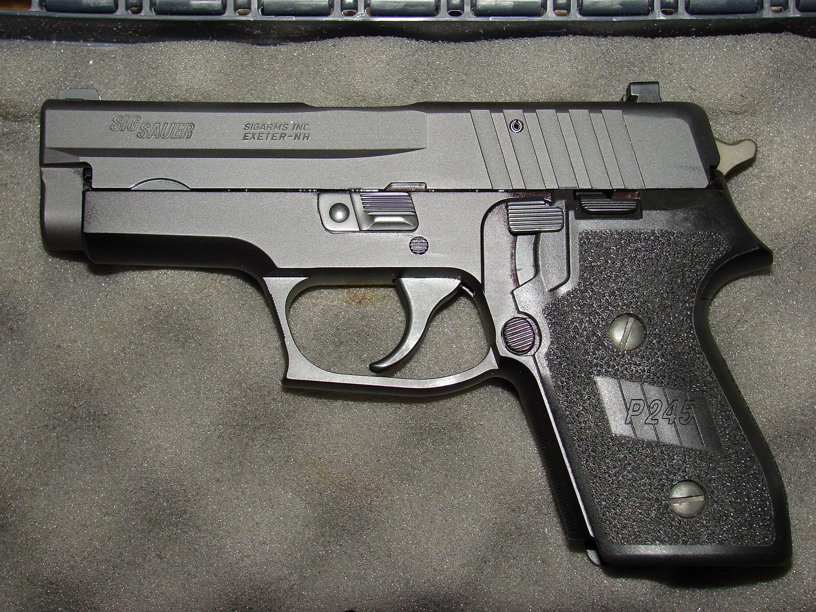 SIG-Sauer P245 pistol (Germany).45 ACP w/ 3 Mags  Guns > Pistols > Sig - Sauer/Sigarms Pistols > Other