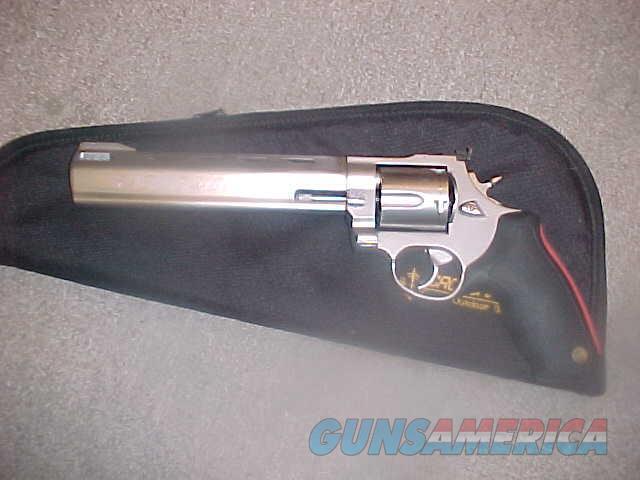 TAURUS RAGING BULL STAINLESS 454 CASULL  Guns > Pistols > Taurus Pistols > Revolvers