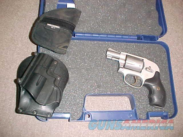 S&W 638-3 HAMMERLESS STAINLESS 38SPL  Guns > Pistols > Smith & Wesson Revolvers > Small Frame ( J )