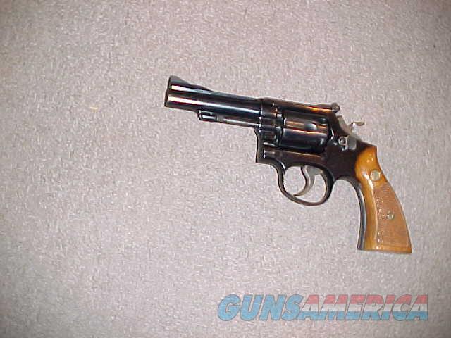 SMITH WESSON 15-2 38SPL  Guns > Pistols > Smith & Wesson Revolvers > Med. Frame ( K/L )