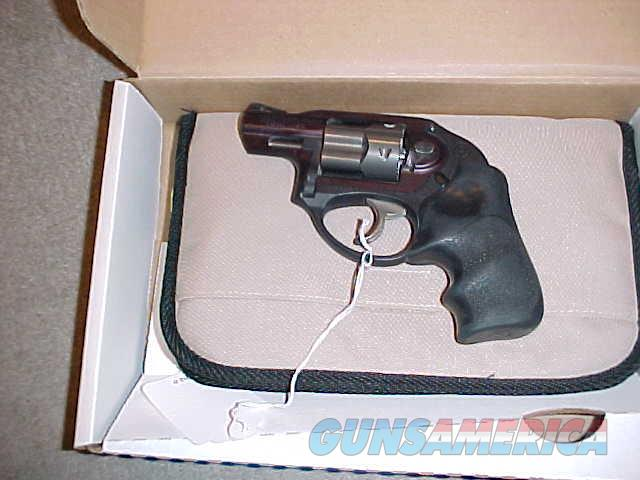 RUGER LCR BLACK 38 PLUS P  Guns > Pistols > Ruger Double Action Revolver > LCR