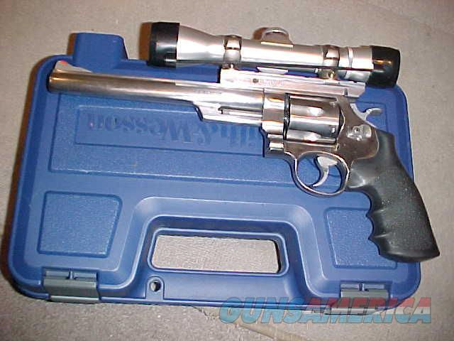 "S&W 629-1 STAINLESS 8 3/8"" 44 MAGNUM  Guns > Pistols > Smith & Wesson Revolvers > Model 629"