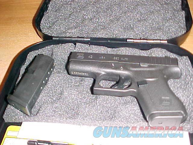 GLOCK 42 IN 380ACP  Guns > Pistols > Glock Pistols > 42