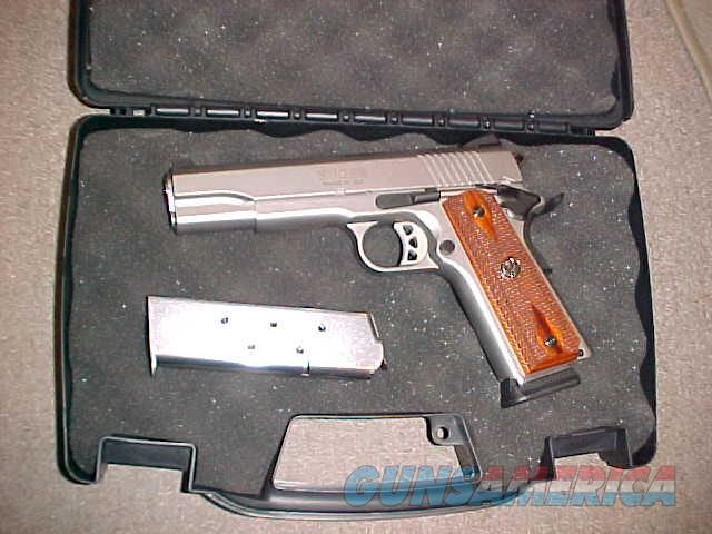 RUGER SR-1911 STAINLESS GOVERNMENT 45ACP  Guns > Pistols > Ruger Semi-Auto Pistols > 1911