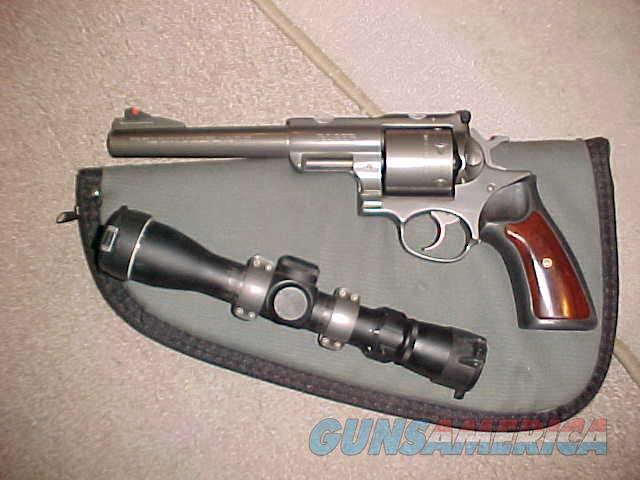 RUGER SUOER REDHAWK 480  Guns > Pistols > Ruger Double Action Revolver > Redhawk Type