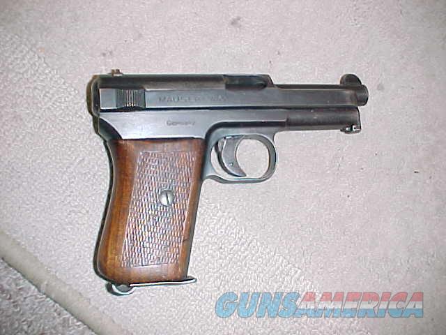 MAUSER MODEL 1914 CALIBER 7.65  Guns > Pistols > Mauser Pistols