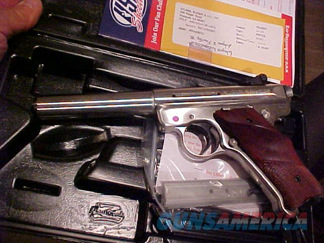 RUGER TALO US SHOOTING TEAM 22LR NIB  Guns > Pistols > Ruger Semi-Auto Pistols > Mark I/II/III Family
