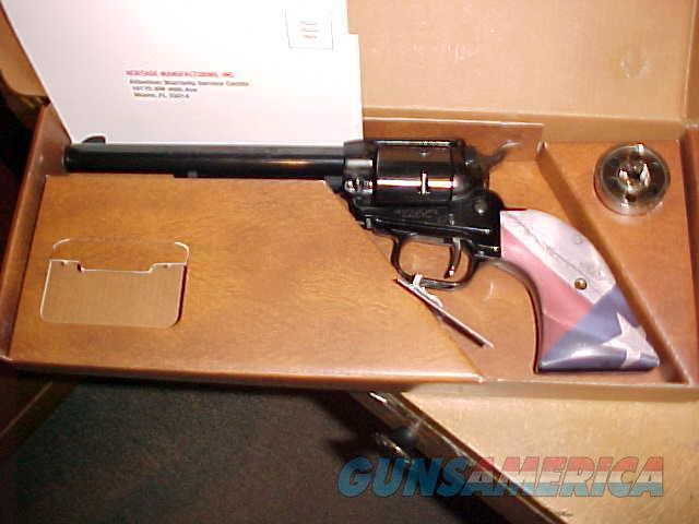 HERITAGE ARMS  ROUGH RIDER TEXAS THEME SAA 22LR/22WMR  Guns > Pistols > Heritage