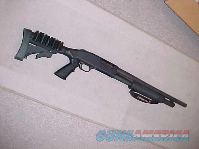 MOSSBERG 500 TACTICAL 12GA COLLAPSIBLE STOCK  Guns > Shotguns > Mossberg Shotguns > Pump > Tactical