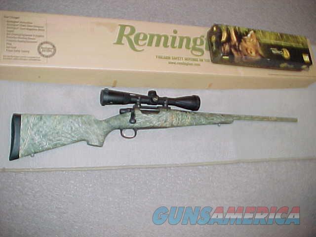 REMINGTON SEVEN PREDATOR CAMO 223  Guns > Rifles > Remington Rifles - Modern > Bolt Action Non-Model 700 > Sporting