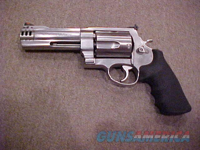 "S&W 460V STAINLESS 5""  Guns > Pistols > Smith & Wesson Revolvers > Full Frame Revolver"