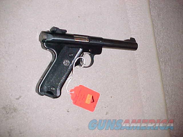 RUGER MKII TARGET 22LR  Guns > Pistols > Ruger Semi-Auto Pistols > Mark I/II/III/IV Family