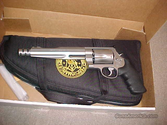 "S&W 500 MAGNUM COMPENSATED HUNTER 7.5""  Guns > Pistols > Smith & Wesson Revolvers > Performance Center"