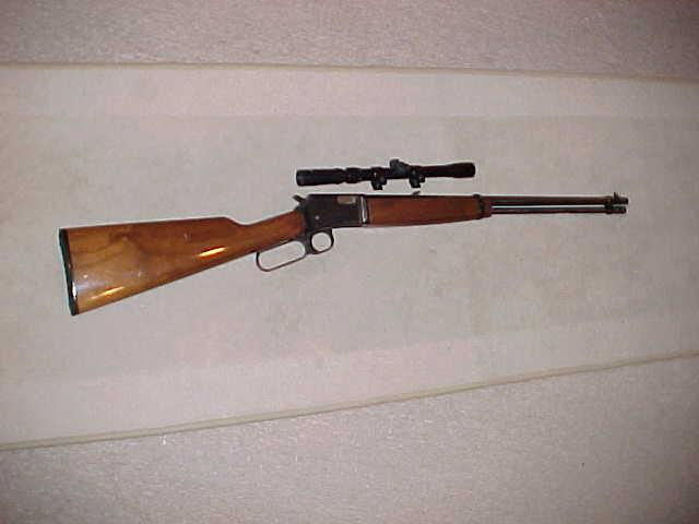 BROWNING BL-22 FIELD GRADE   Guns > Rifles > Browning Rifles > Lever Action
