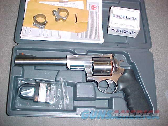 RUGER SUPER REDHAWK S/S 454 CASULL  Guns > Pistols > Ruger Double Action Revolver > Redhawk Type