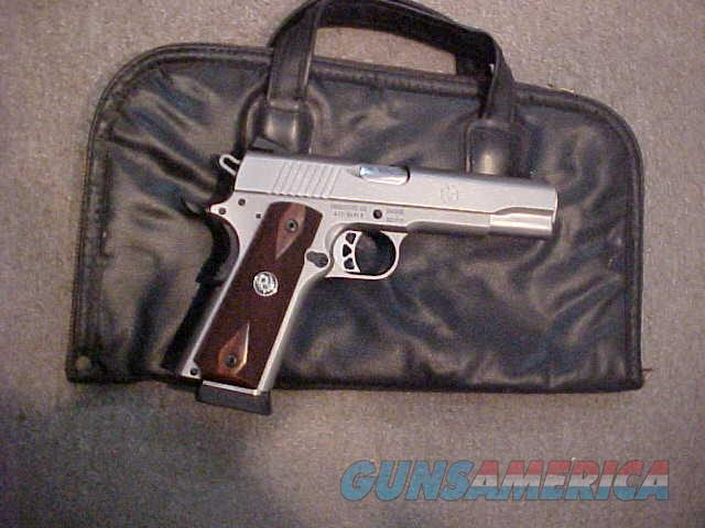 RUGER SR-1911 STAINLESS 45ACP  Guns > Pistols > Ruger Semi-Auto Pistols > 1911