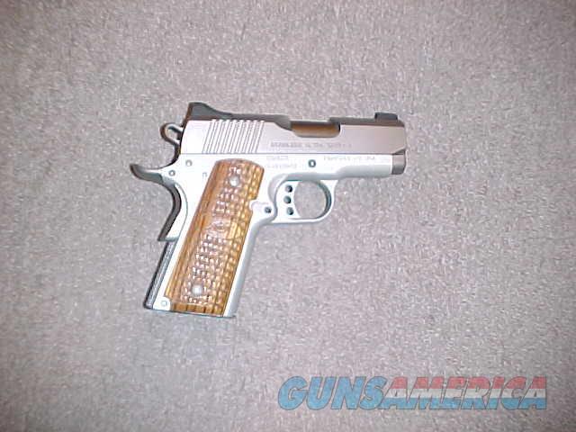 KIMBER STAINLESS ULTRA CARRY II 45ACP  Guns > Pistols > Kimber of America Pistols