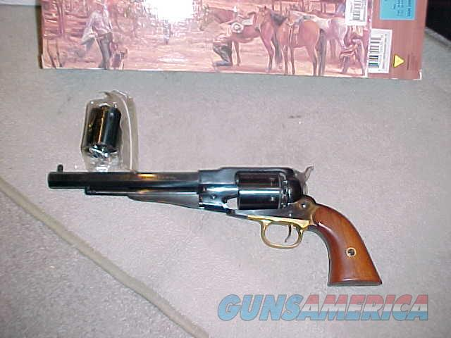 REMINGTON 1858 ARMY 44BP WITH EXTRA 45 COLT CYL  Guns > Pistols > Pietta Pistols