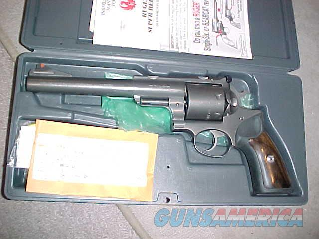 RUGER SUPER REDHAWK 480 SS  Guns > Pistols > Ruger Double Action Revolver > Redhawk Type
