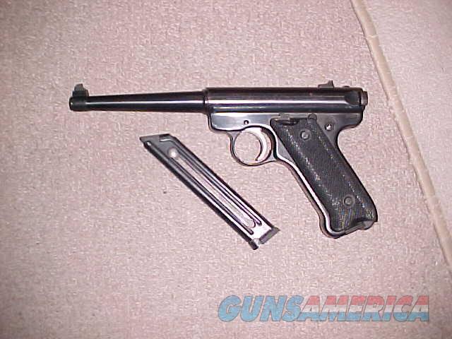 RUGER MKII 22LR  Guns > Pistols > Ruger Semi-Auto Pistols > Mark I/II/III/IV Family