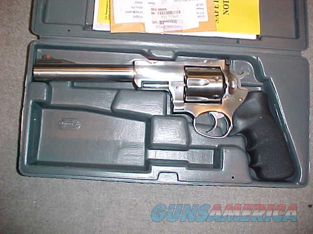 "RUGER SUPER REDHAWK S/S 44 MAG 7.5""  Guns > Pistols > Ruger Double Action Revolver > Redhawk Type"