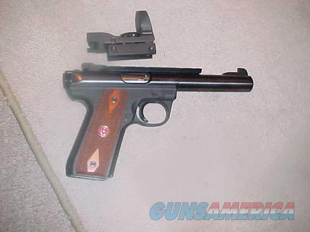 RUGER 22-45 TARGET 22LR HOLOGRAM SGT  Guns > Pistols > Ruger Semi-Auto Pistols > 22/45