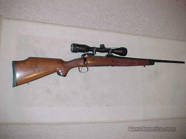 SAVAGE 14 AMERICAN CLASSIC 22-250 SCOPED  Guns > Rifles > Savage Rifles > Accutrigger Models > Sporting