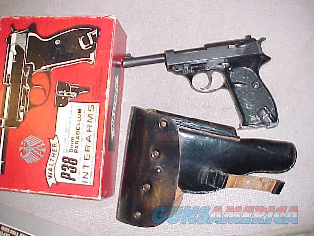 WALTHER P-38 (POLICE TRADE INS) 9MM (INTERARMS)  Guns > Pistols > Walther Pistols > Post WWII > P38