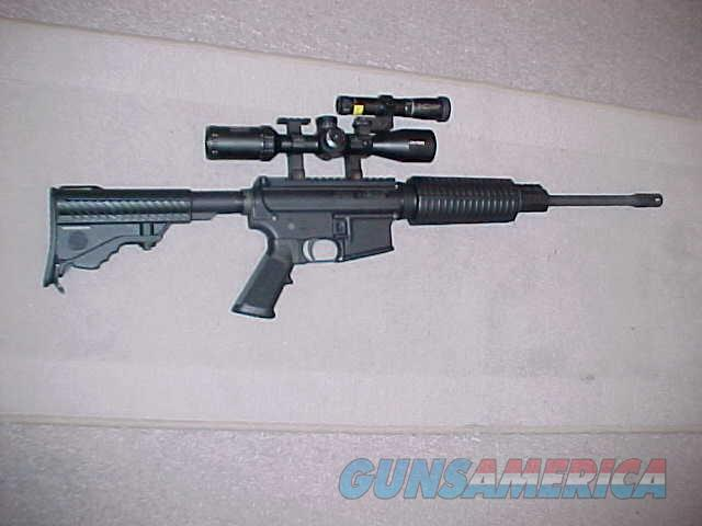 DPMS SPORTICAL CAR/15 223/5.56 SCOPED/LASER  Guns > Rifles > DPMS - Panther Arms > Complete Rifle