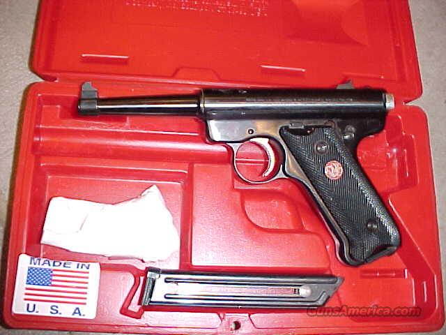 RUGER MKII ANNIVERSARY 22LR RED BOX  Guns > Pistols > Ruger Semi-Auto Pistols > Mark I & II Family