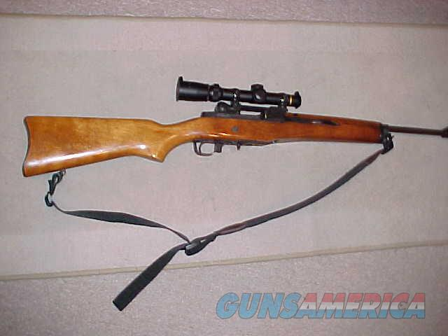 RUGER 180 SERIES MINI 14 WITH LEUPOLD SCOPE  Guns > Rifles > Ruger Rifles > Mini-14 Type