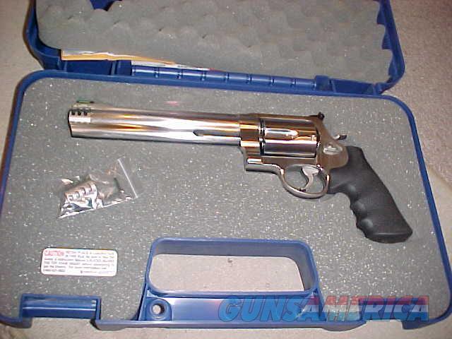SMITH WESSON 460XVR   Guns > Pistols > Smith & Wesson Revolvers > Full Frame Revolver
