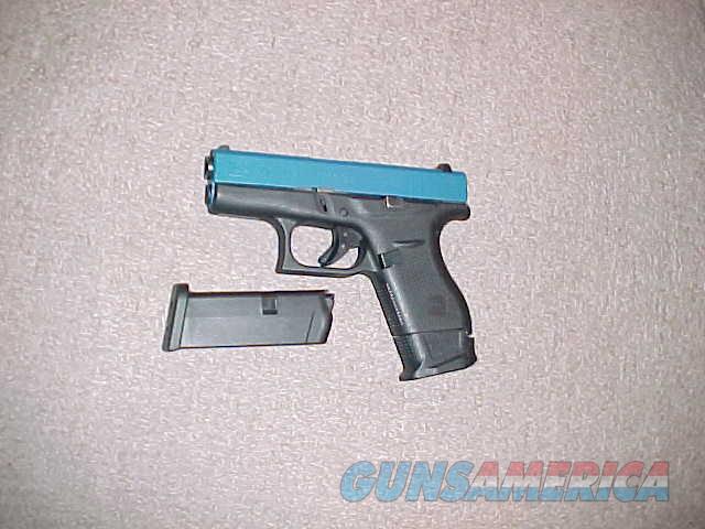 GLOCK MODEL 42 COLORED SLIDE 380ACP  Guns > Pistols > Glock Pistols > 42