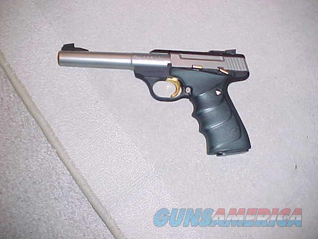 BROWNING BUCKMARK CAMPER STAINLESS  Guns > Pistols > Browning Pistols > Buckmark