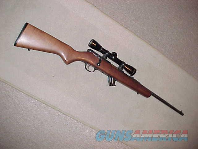 SAVAGE MKII BOLT ACTION 22LR WITH LEUPOLD  Guns > Rifles > Savage Rifles > Rimfire