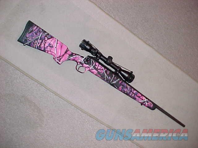 SAVAGE AXIS YOUTH MUDDY GIRL 243CAL  Guns > Rifles > Savage Rifles > Axis