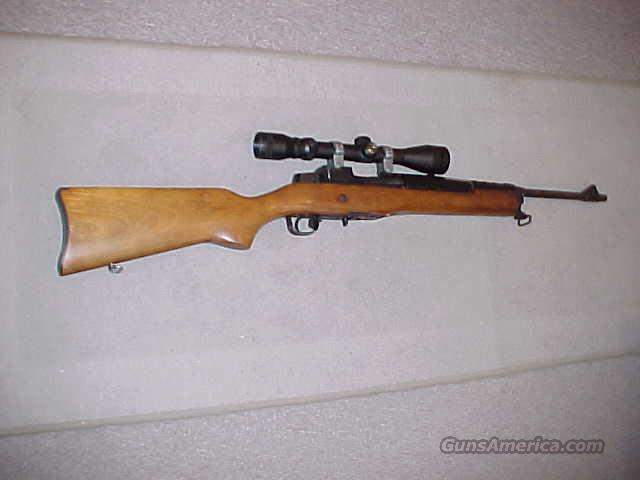 RUGER RANCH MINI-14 223 SCOPED  Guns > Rifles > Ruger Rifles > Mini-14 Type