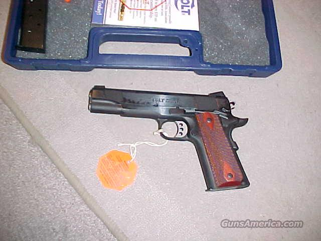 COLT XSE GOVERNMENT BLUE 45ACP ENHANCED  Guns > Pistols > Colt Automatic Pistols (1911 & Var)