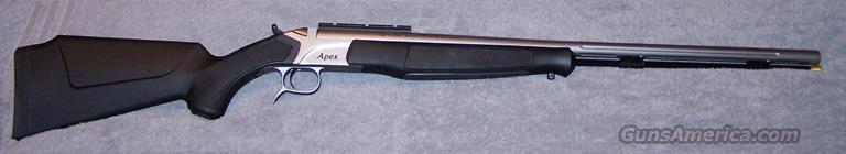 CVA Apex Muzzleloader  Guns > Rifles > Connecticut  Valley Arms (CVA) Rifles > Modern Muzzleloaders