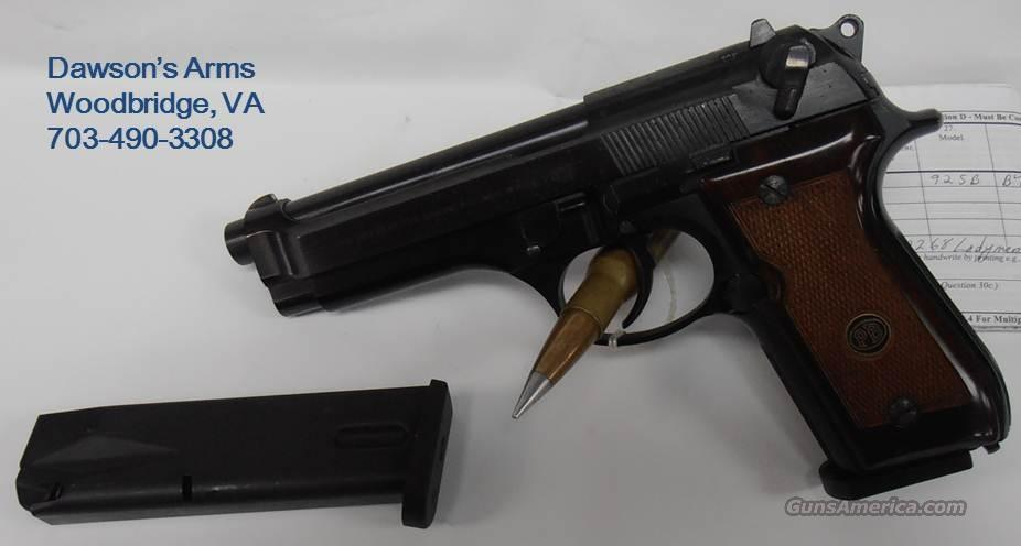 Beretta 92 SB 9mm - Made in Italy  Guns > Pistols > Beretta Pistols > Model 92 Series