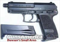 Heckler & Koch HK USP 45 Compact Tactical Threaded Barrel  Guns > Pistols > Heckler & Koch Pistols > Polymer Frame