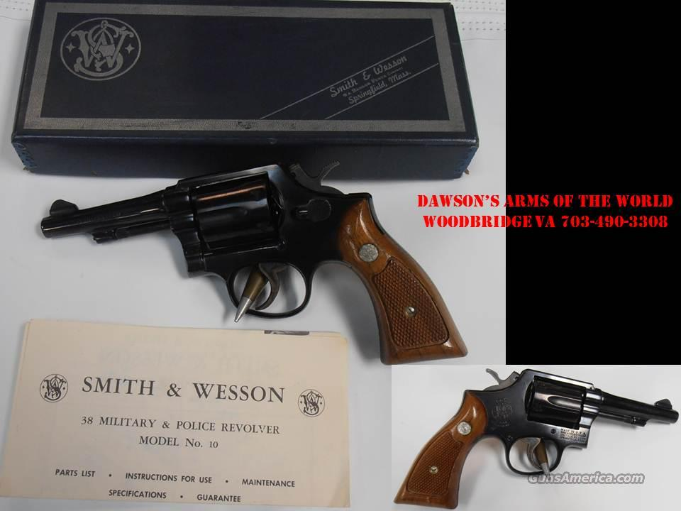Smith & Wesson Model 10-5 Pre 70. Like new never shot.  Guns > Pistols > Smith & Wesson Revolvers > Model 10