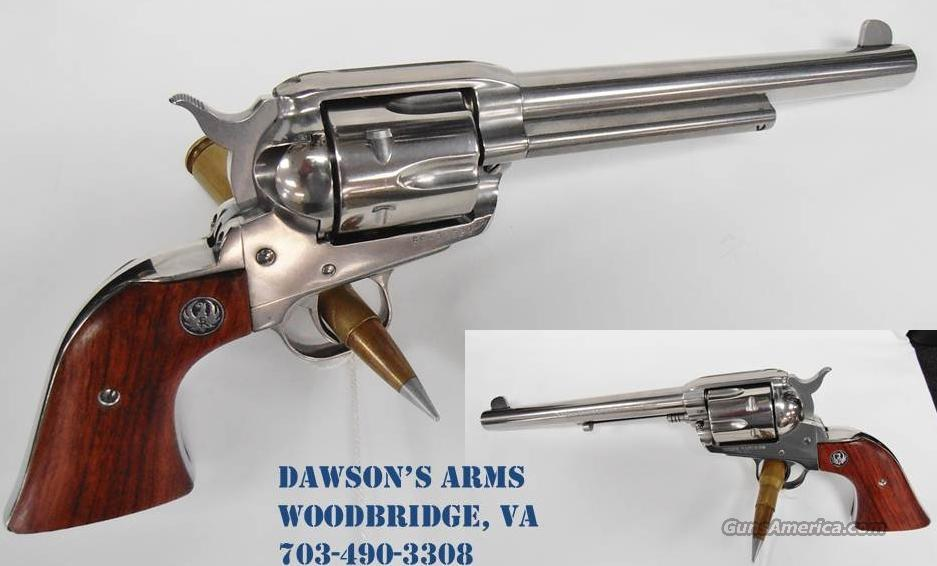 RUGER VAQUERO .45 Colt Stainless Steel  Guns > Pistols > Ruger Single Action Revolvers > Single Six Type